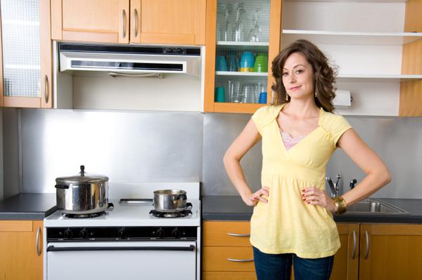 clean healthy kitchen