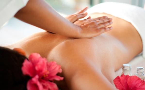 massage against stress