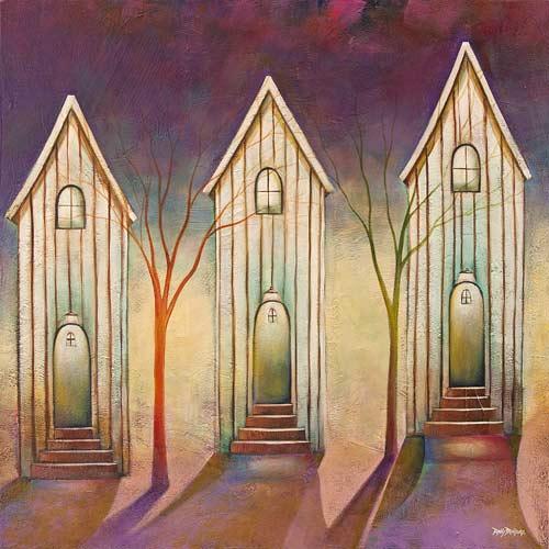 Neighbors Acrylic on Canvas